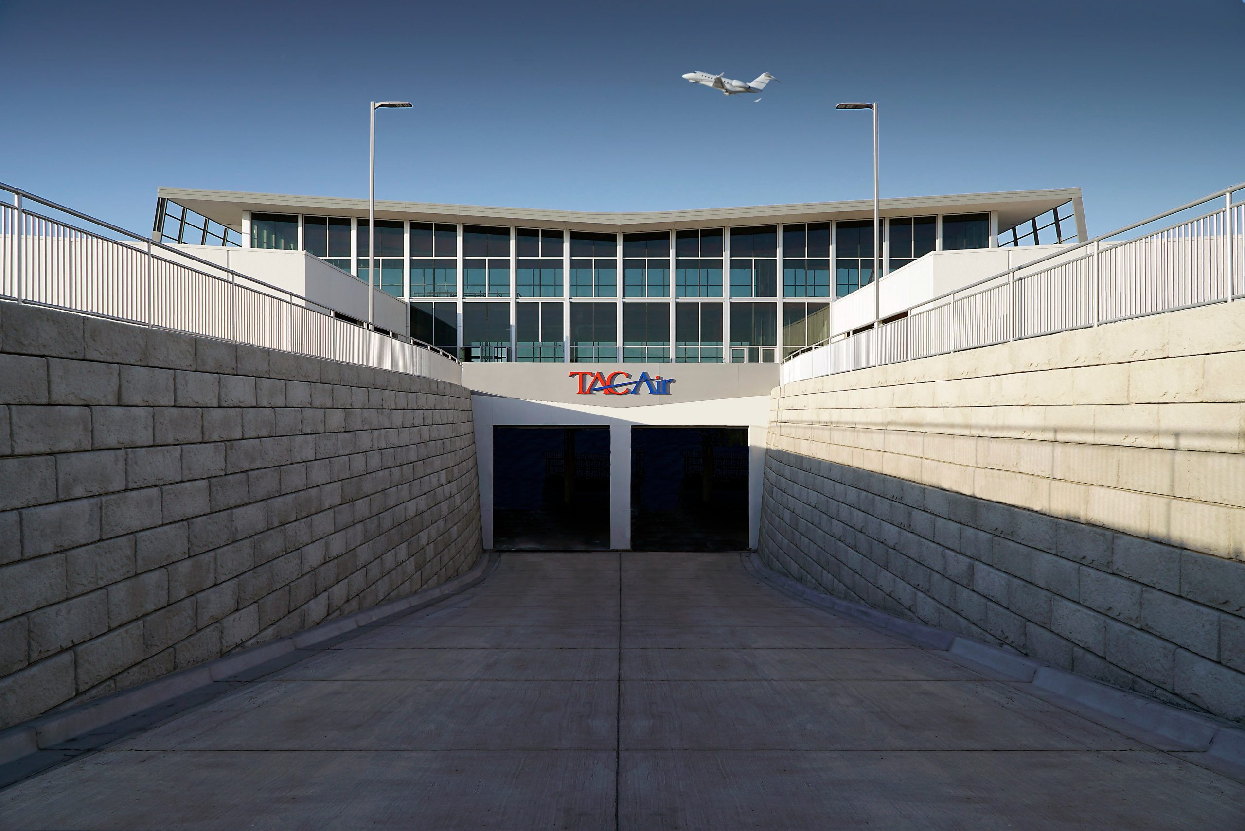 TAC Air Front entrance Tunnel 1-2020-min